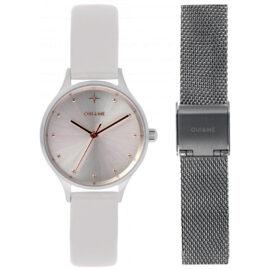 Orologio Donna Oui&Me Minette Pelle + Cinturino Acciaio ME010168